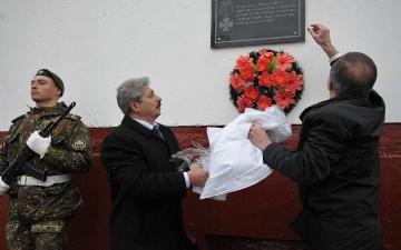 Открытие памятной доски Суркову Николаю Анатольевичу