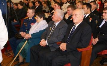 Встреча с курсантами Волжской Государственной Академии Водного Транспорта 2013 год.