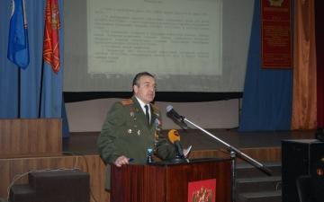 Выборная конференция Астраханского Регионального отделения Всероссийской общественной организации ветеранов 2013
